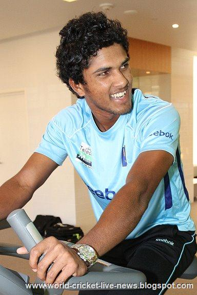 Sri lankan cricketer Dinesh Chandimal world Cricket
