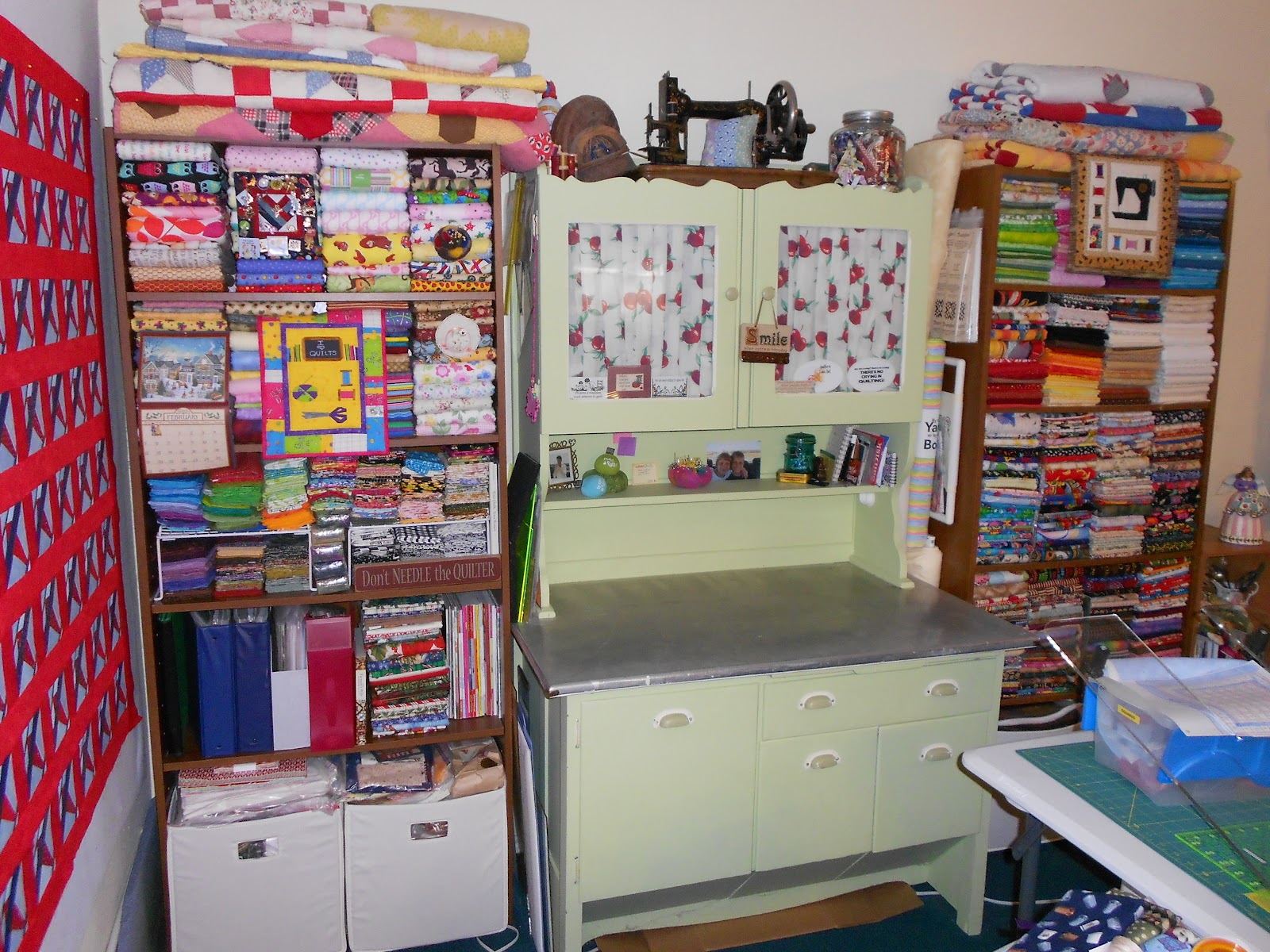 Quilting Fabric Storage Ideas