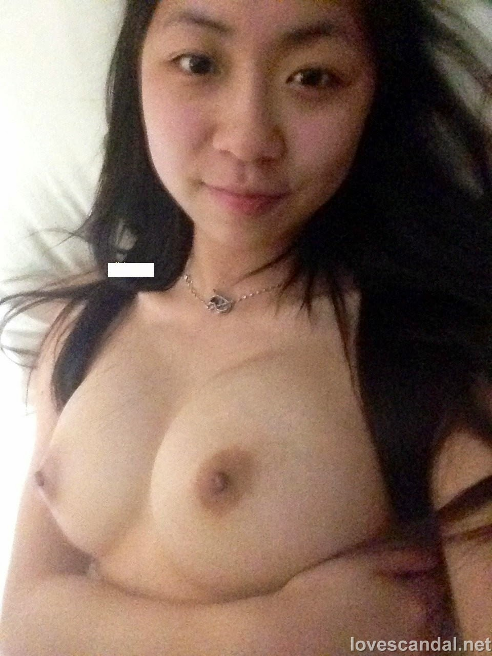 naked white asian girl ass