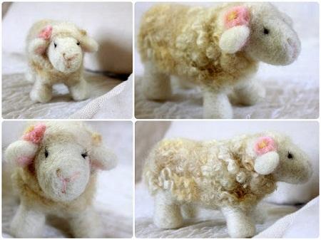 Ovejas de fieltro paso a paso - Como hacer una oveja ...