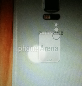 Another leaked image of Samsung Galaxy S5 shows rear area