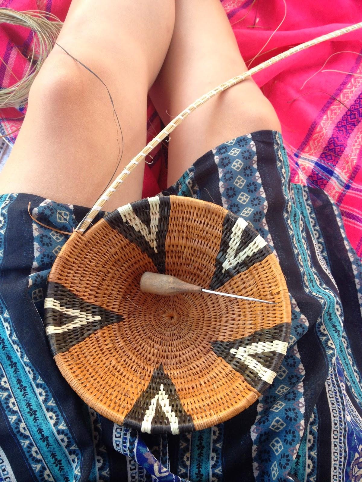 Basket Weaving Botswana : India in botswana basket weaving etsha