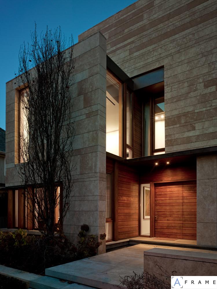 Meyerowitz residence by hariri pontarini architects for Ravine house architecture design
