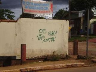Autores da pichação ainda não foram identificados pela polícia (Foto: AHAC)