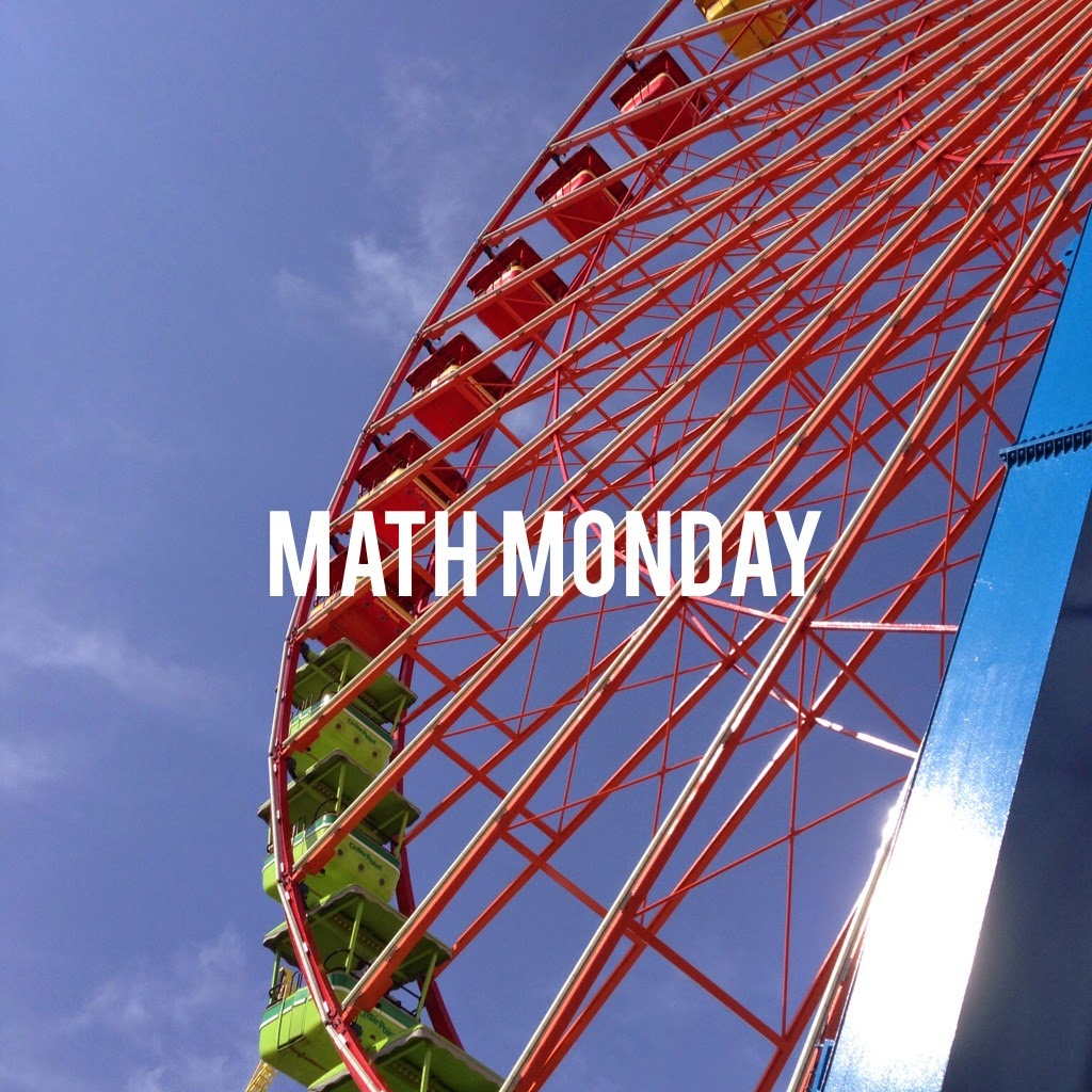 Join Me - Math Monday