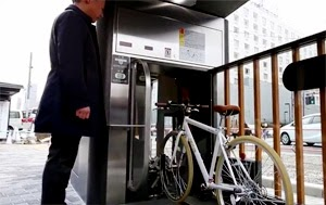 How to park your bike in downtowns Japan