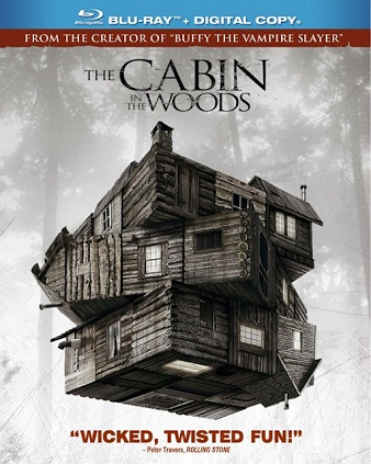 English Horror Movie The Cabn in the Wods 2012 BRRip 480p 300MB ESub