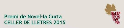 Premi de Novel·la Curta Celler de Lletres 2015
