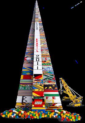 Ajude a construir o maior Lego do mundo!
