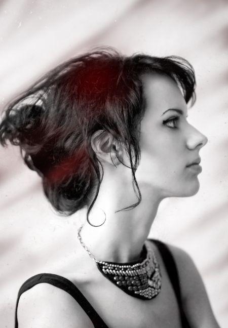 Alya Segova ledernec fotografia russa mulher linda