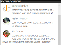 Cara Membuat Widget Recent Comment di Blog