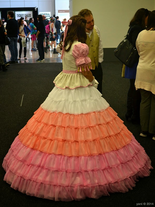 oz comic-con adelaide - kaylee's party dress