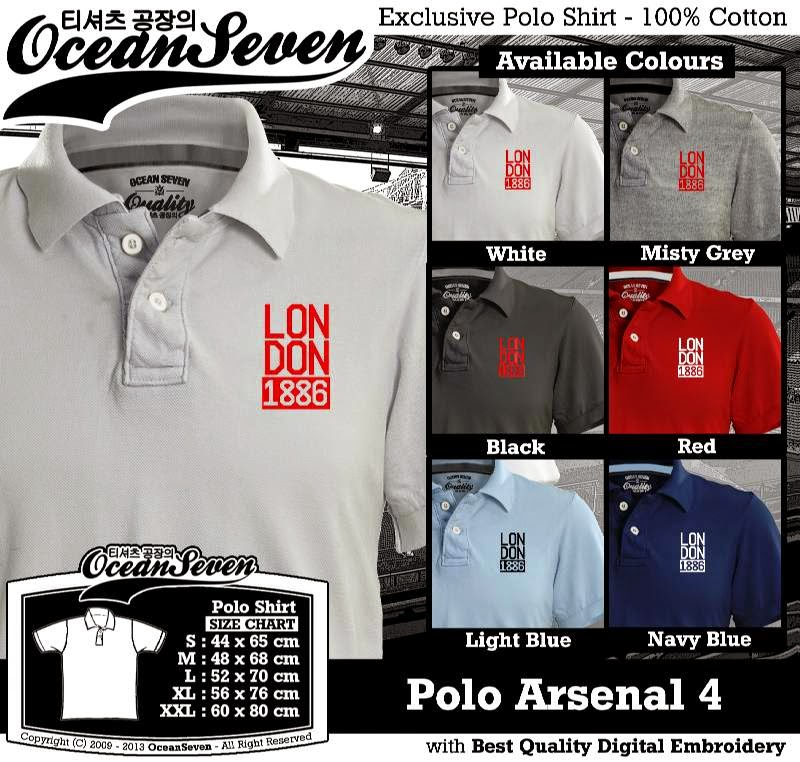 Kaos Polo Arsenal 4