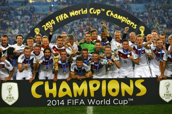 Germania - campioana mondiala 2014