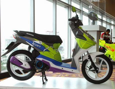 Variasi Modifikasi Motor Honda Beat Berkelas - Variasi