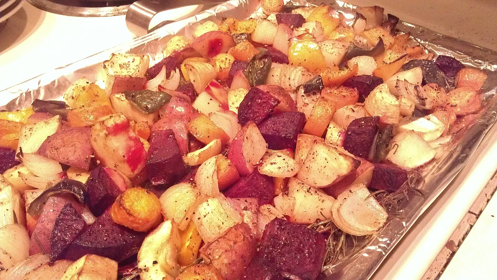 how to make roasted veggies in oven