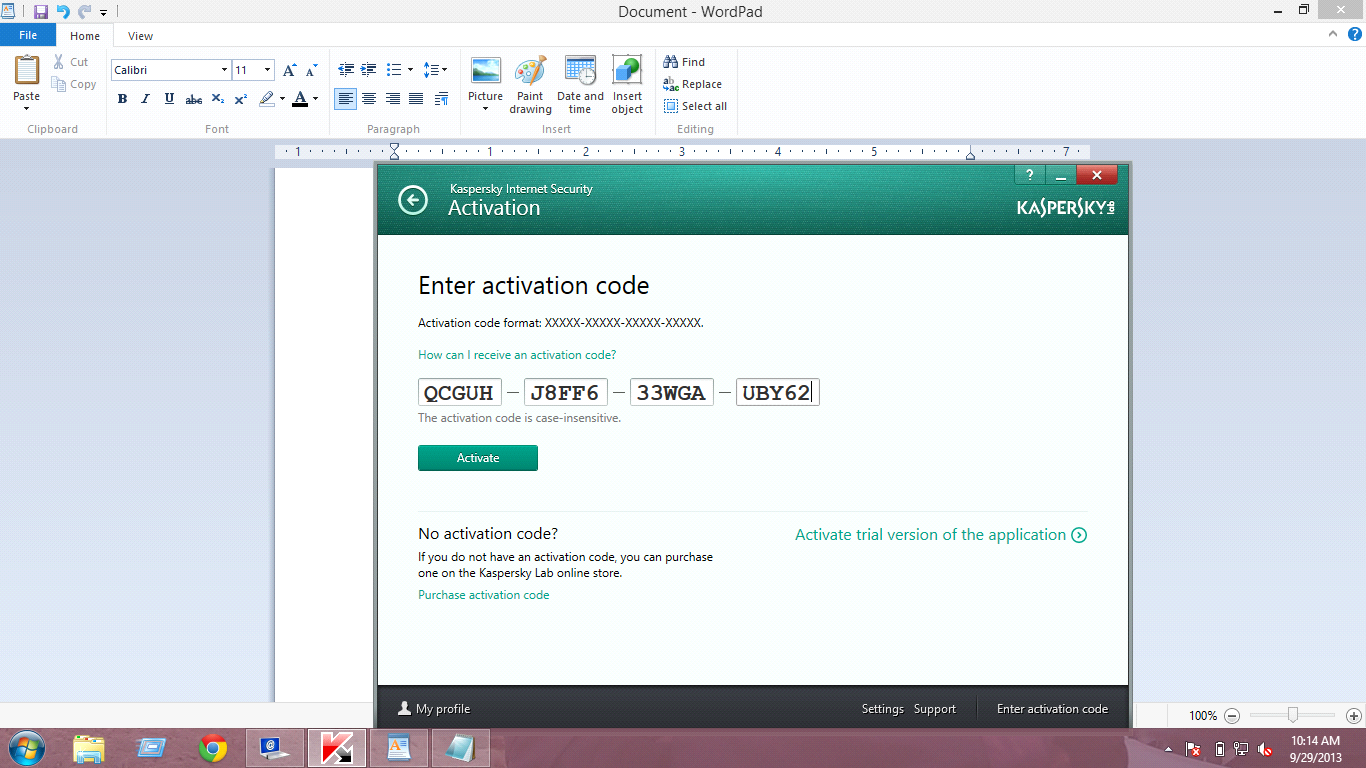 download kaspersky internet security license key free