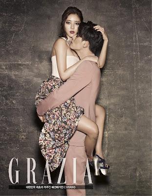 Son Dambi - Grazia Magazine October Issue 2013