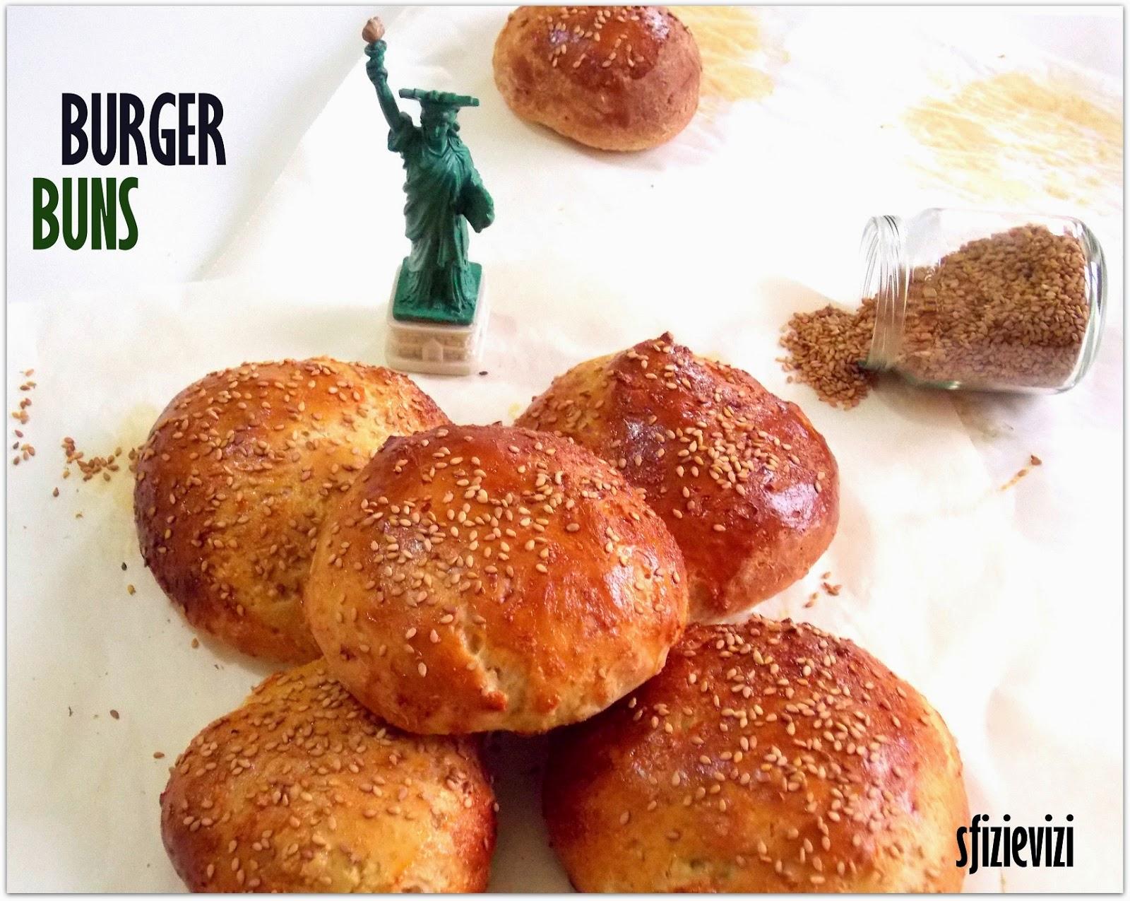 burger buns- panini americani per hamburger senza latticini - la via dei sapori usa -