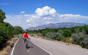 The Bike Paths in Albuquerque