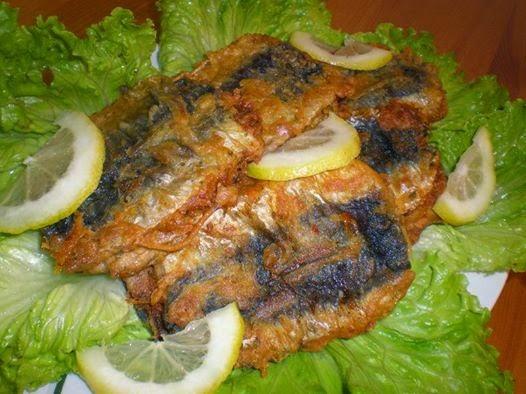 Recette des sardines à la tunisienne