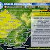 AVISO | Lluvias y tormentas puntualmente intensas Lit O y N (Lun 29/6)