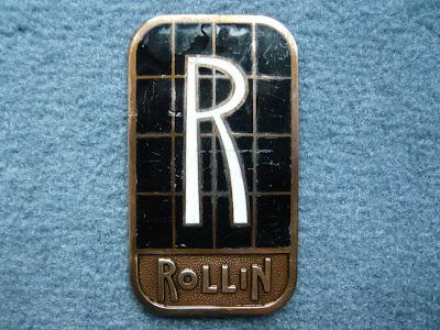 Rollin Cletrac radiator emblem badge
