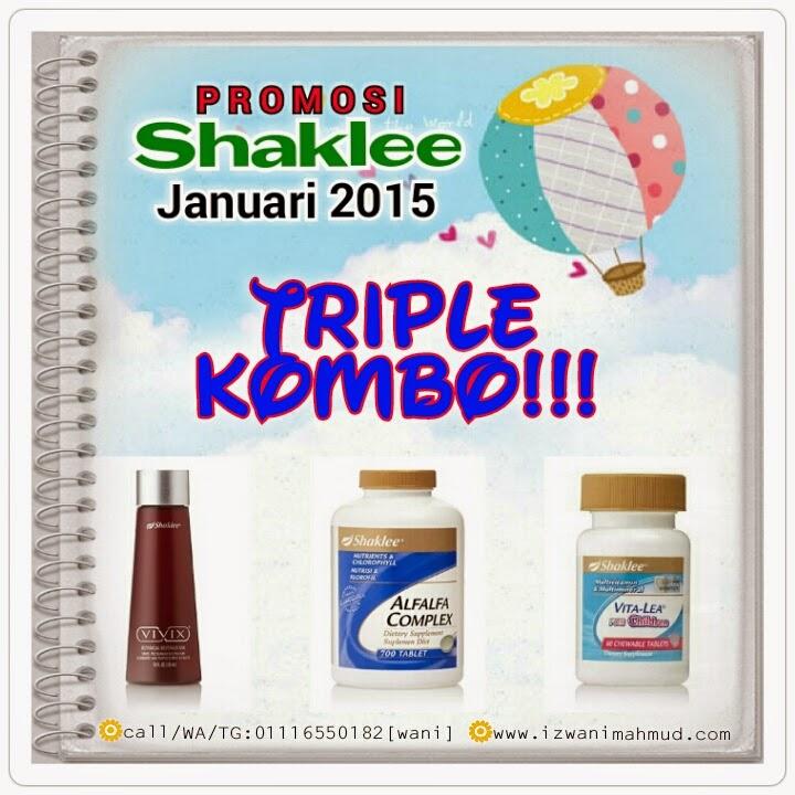 PROMO SHAKLEE Januari 2015, Vivix, Alfafa Complex, Vita-Lea for Children