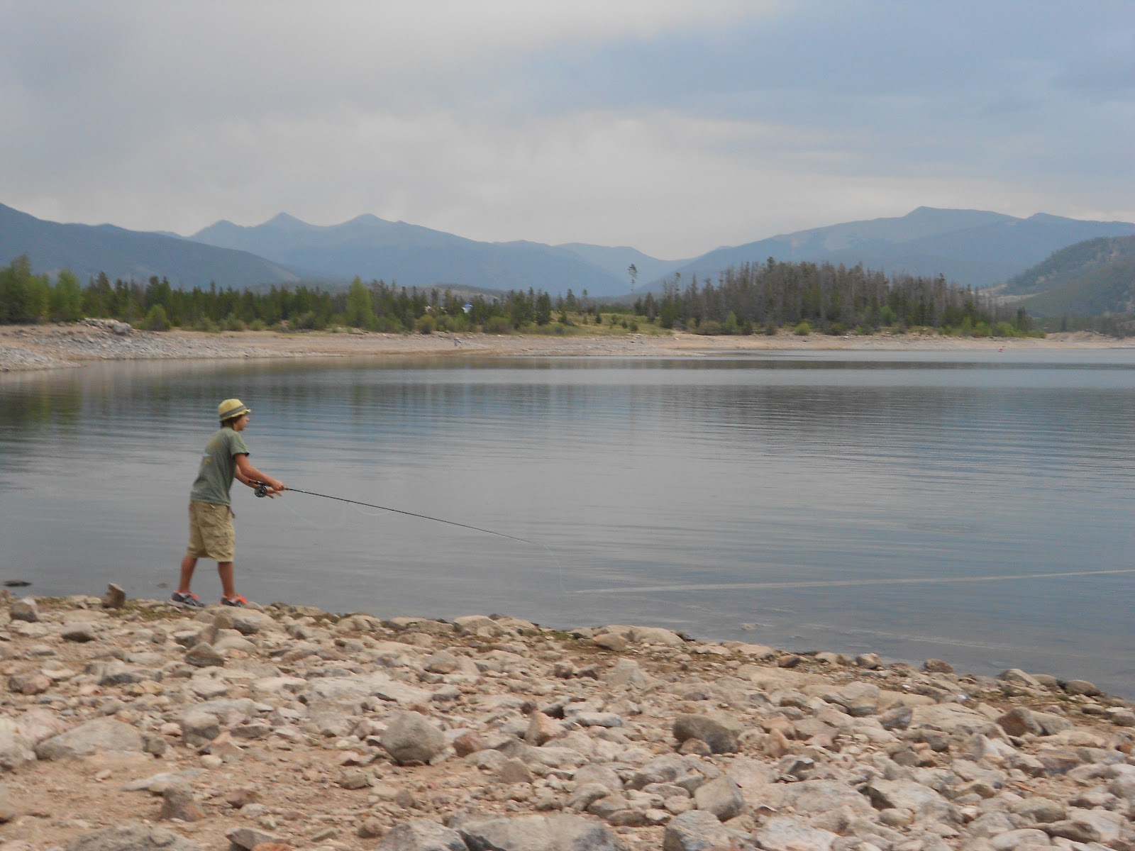 The gallery off broadway colorado day 1 for Dillon reservoir fishing