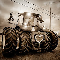Just Married Tractor