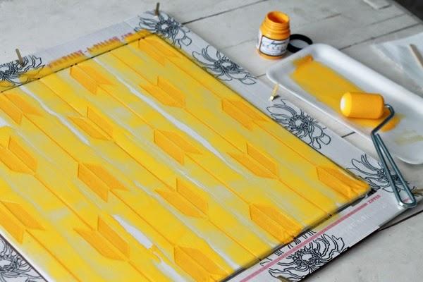 DIY, Como Hacer Cojines Impresos con Estencil