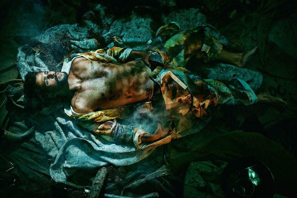 "Segundo Zylbersztajn, o ensaio explora o conceito de uma ""viagem neoprimitivista"" Foto: Gustavo Zylbersztajn"