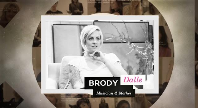 Brody Dalle no programa conversa com Amanda de Cadenet