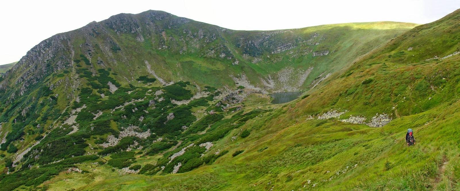 Котловина озера Бребенескул