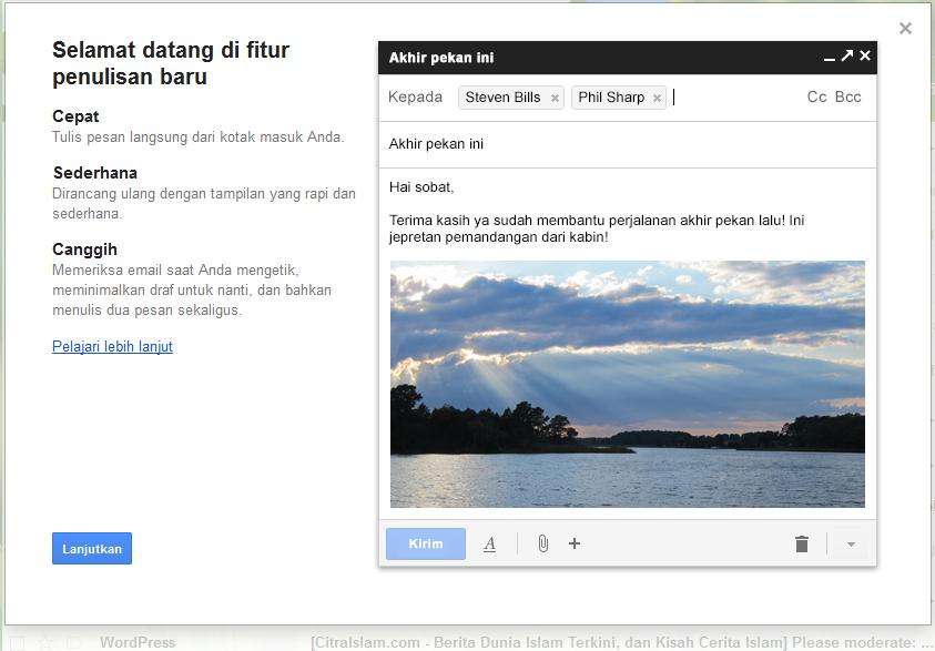 Tampilan dan Fasilitas Terbaru Email Gmail 2013, Akankah Berbayar