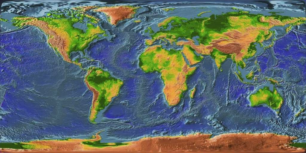 Large Earth satellite maps for download.