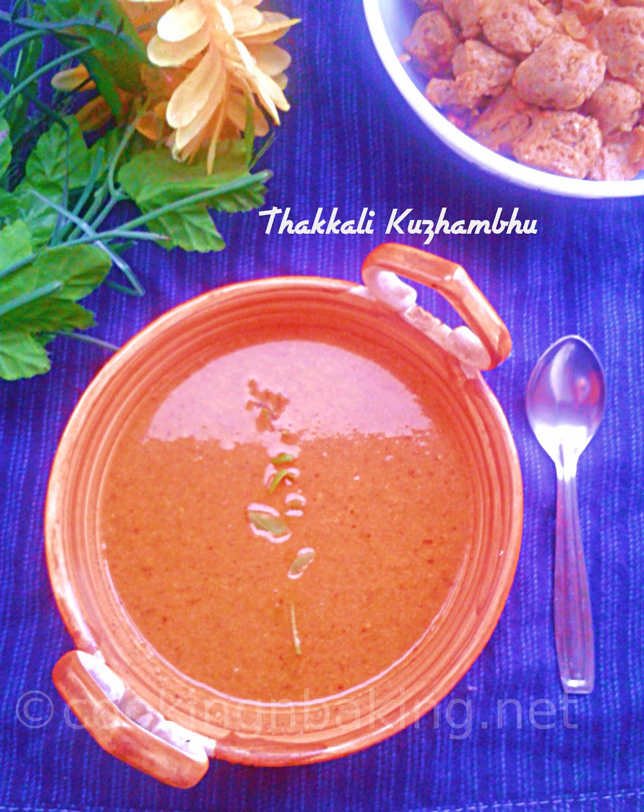Thakkali Kuzhambhu | How to make Thakkali Kuzhambhu