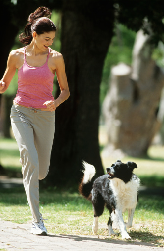 Work out with your pet