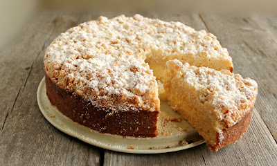Cream Cheese Crumb Cake