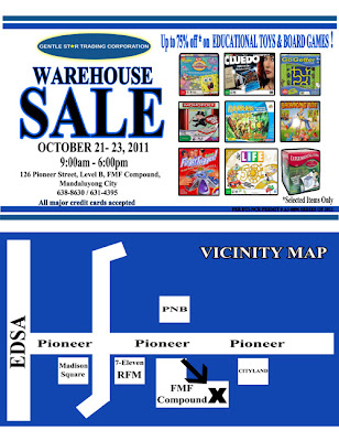 Gentle Star Trading Corporation Warehouse Sale 2011
