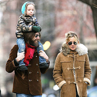 Kate Hudson with Husband