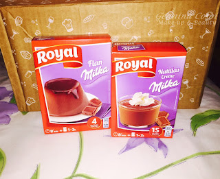FLAN Y NATILLAS MILKA ROYAL DEGUSTABOX OCTUBRE 2015