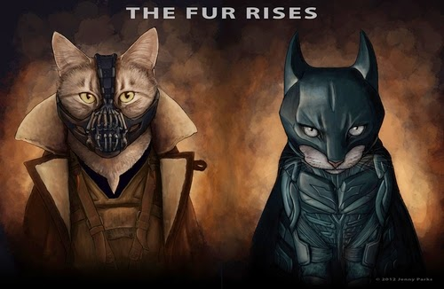 05-Bane-and-Batman-Jenny-Parks-Drawing-Animals-Superhero-Cats-Scientific-Illustrator-www-designstack-co