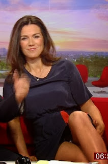 Susanna Reid Shows Off Her Legs On BBC Breakfast Show