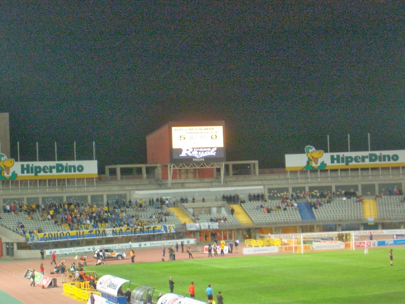 UD Las Palmas 5 Sabadell 0
