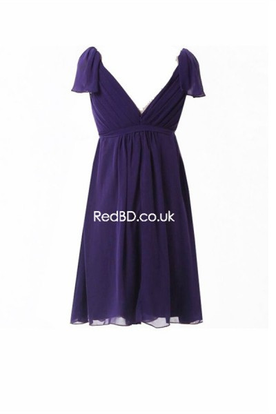 Maternity Bridesmaid Dress With Cap Sleeves