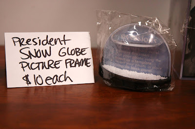 From The Capitol General Store: President SNOW Globe picture frame (Price is in PANEM cash, not real dollars!)