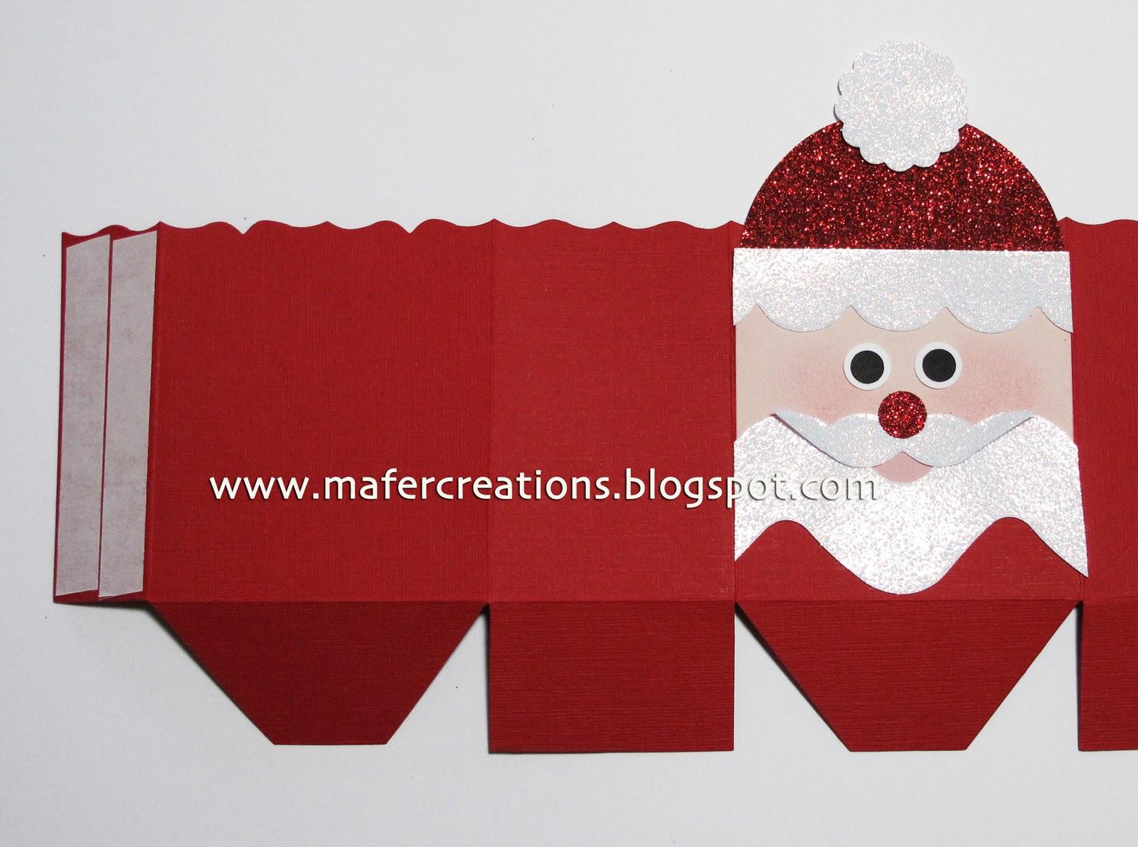 Mafer 39 s creations cajas decoradas con personajes - Cajas con motivos navidenos ...