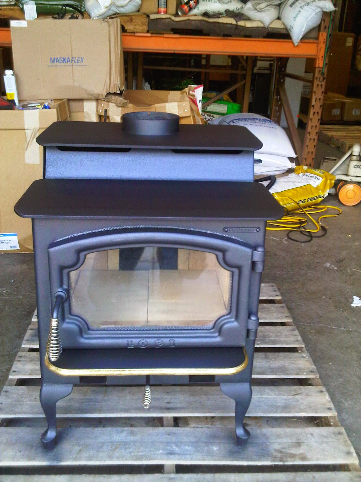 lopi wood stoves how to use