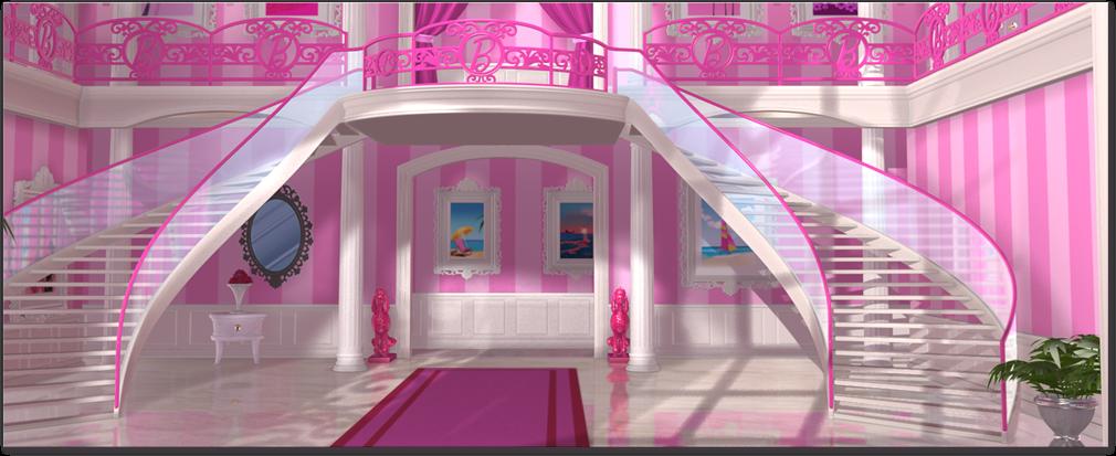 Barbie mundo pink sobre os locais life in dreamhouse for Dream house com